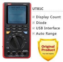 Buy online UNI-T UT81B UT81C LCD Handheld Digital Multimeter w/USB/ LCD Meter Tester Oscilloscope !!NEW!! ut81b UT-81B
