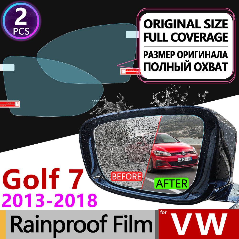 top 10 most popular vw golf accessories sticker ideas and get freefor volkswagen vw golf 7 mk7 2013 2018 5g cover anti fog film rearview mirror