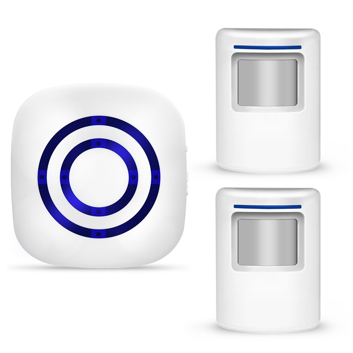 Wireless Motion Sensor Detector Gate Entry Visitor Door Bell Chime Alert Alarm Home Security Alarm US Plug ks v2 welcom chime bell sensor
