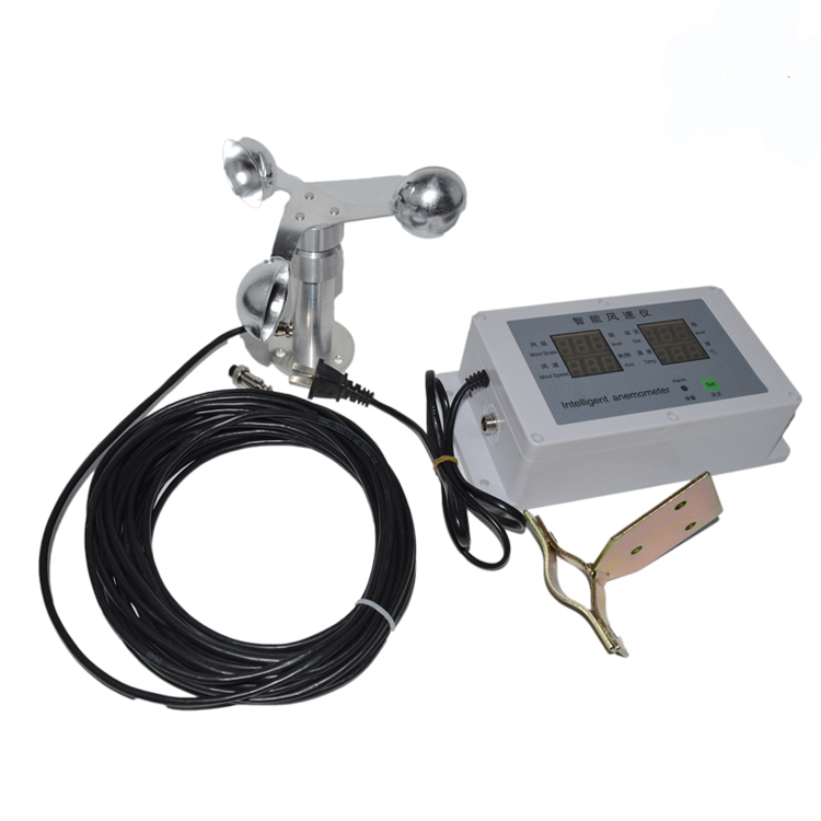 Anemometer Sensor Precisie Wind Meter Wind Sensor Temperatuur Windsnelheid Meting Weer Bouw Torenkraan Wees Nieuw In Ontwerp