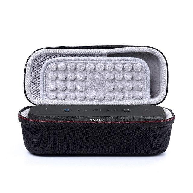 2019 nueva funda rígida EVA para Anker SoundCore Boost 20 W portátil Bluetooth altavoz almacenamiento llevar bolsa de viaje se adapta al cargador y Cable