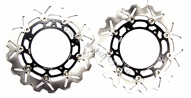 Free shipping moto Brake Rotor Disc For YAMAHA XJ6 XJ600 DIVERSION 09-11 YZF-R6 TZF R6 R600 03-04 MT-03 660 06-11 keoghs real adelin 260mm floating brake disc high quality for yamaha scooter cygnus modify