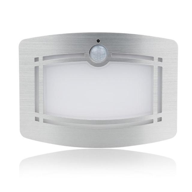 Aluminum Battery Operated Infrared Ir Bright Motion Sensor