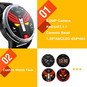 Image 3 - KOSPET Optimus Pro 3GB 32GB  Smart Watch Android7.1 Dual Systems 800mAh Camera WIFI Sport GPS 4G Smatwatch Phone For IOS Android