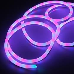 Sumxi 30 м Светодиодные ленты свет SMD 2835 Водонепроницаемый 120 светодиодный s/m мягкие светодиодный неон Веревка полоски бар свет шнура 220 В ЕС Plug