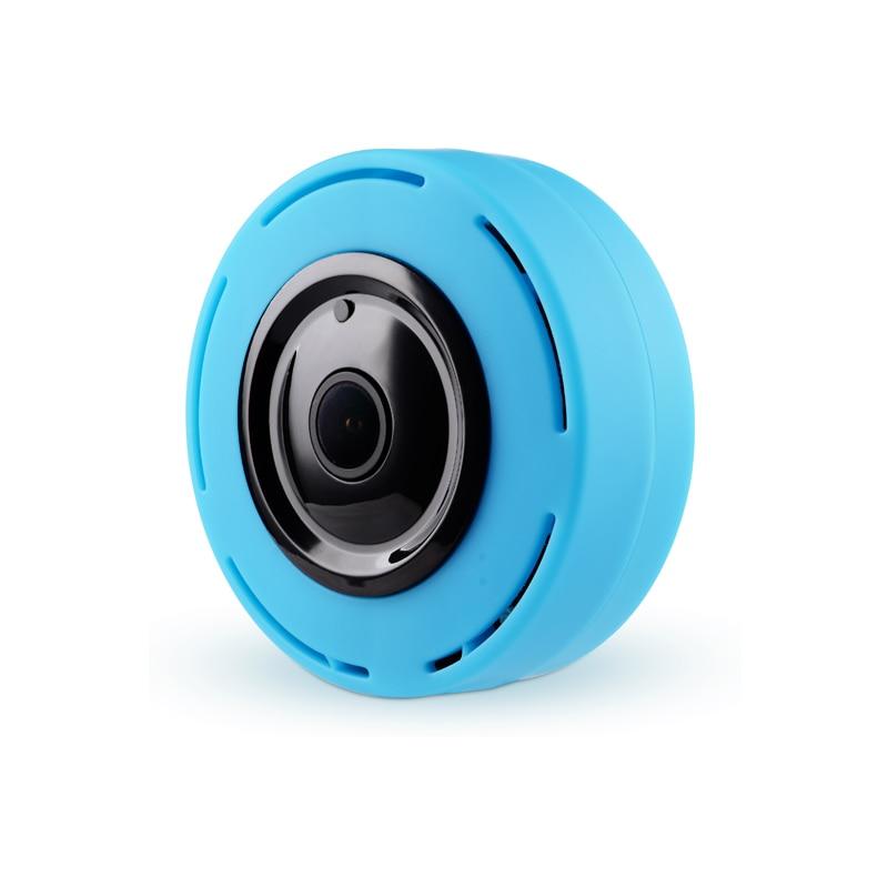 960P IP Camera WI-FI HD VR MINI Panoramic Camera Fisheye 360 Degree P2P APP Surveillance Wireless Security Camera erasmart hd 960p p2p network wireless 360 panoramic fisheye digital zoom camera white