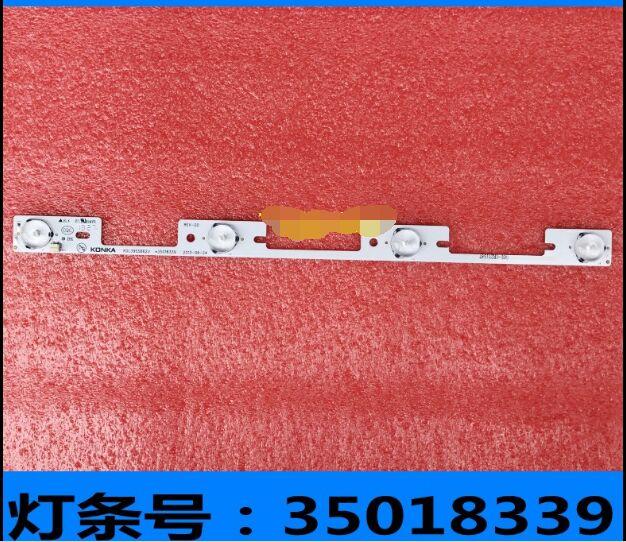 New 10 Pieces LED Backlight Bar For KONKA KDL39SS662U 35018339 327mm 4 LEDs( 1 LED 6V)