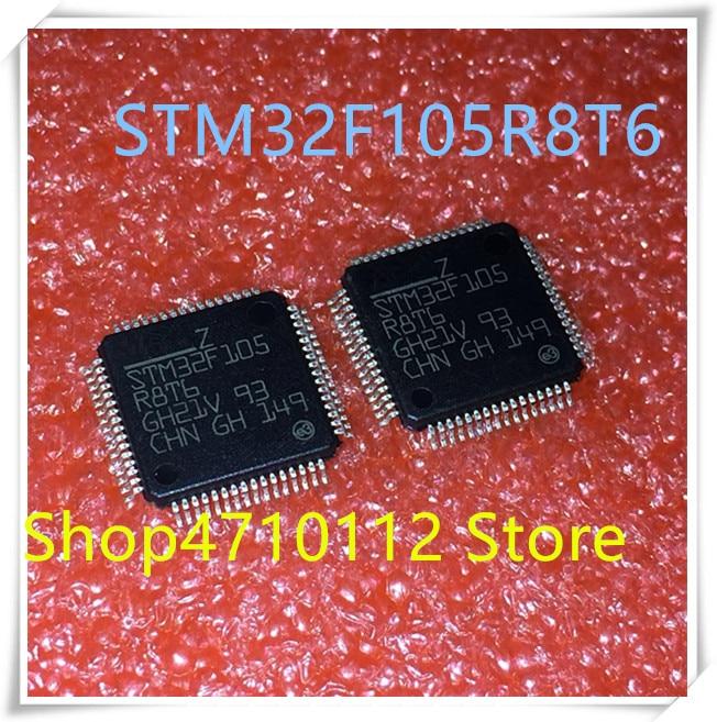 NEW 10PCS/LOT STM32F105R8T6 STM32F105 R8T6 QFP64   IC