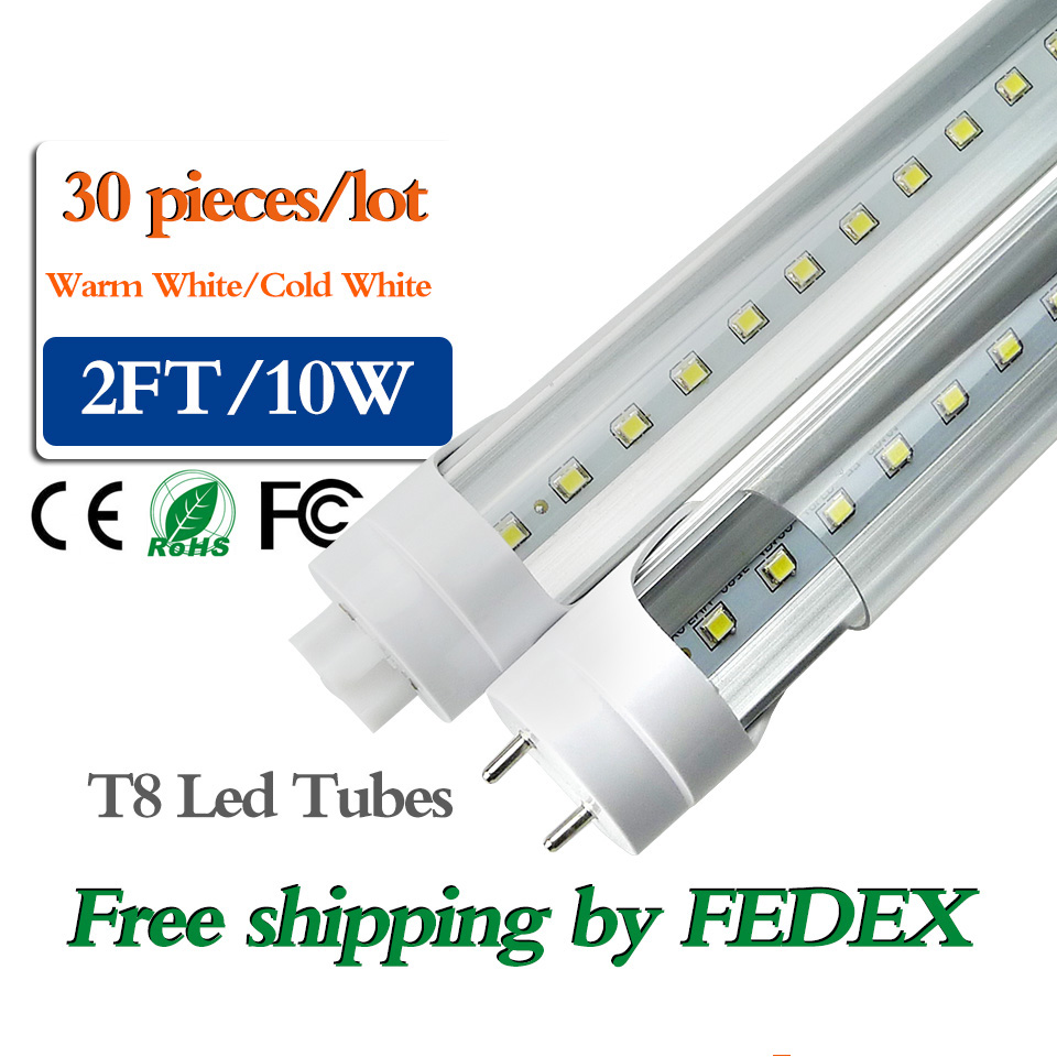 factory price t8 led tube light 2ft 600mm 10w high lumen singel sides smd2835 led fluorescent. Black Bedroom Furniture Sets. Home Design Ideas
