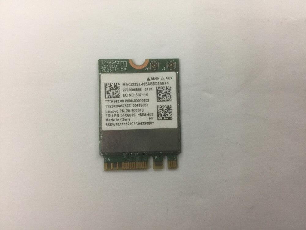 SSEA New For Broadcom BCM943162ZP Dual Band 802.11ac WIFI Bluetooth 4.0 NGFF Card for LENOVO E450 E550 E455 E555 G50-30 04X6019