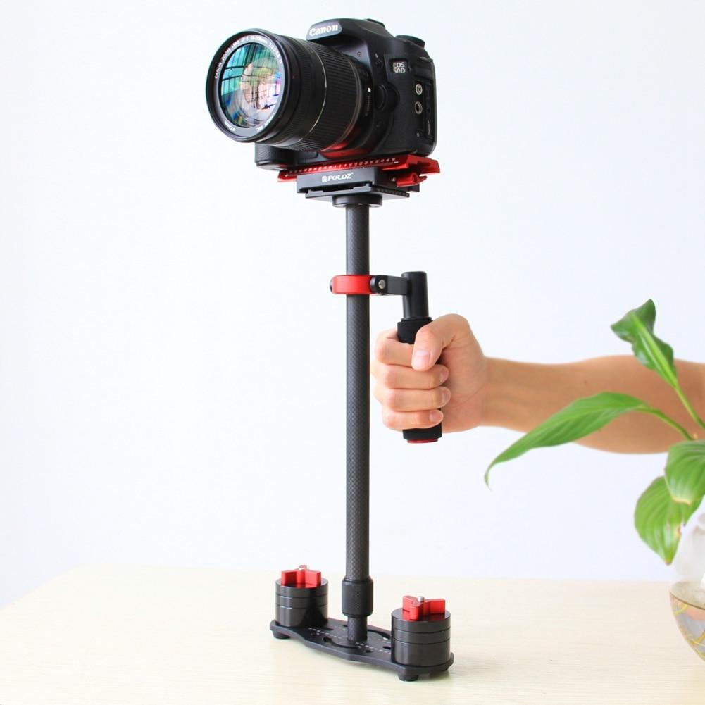 PULUZ Professionnel P60T Caméra Stabilisateur 60 cm de poche dslr steadycam stabilisateur pour REFLEX DSLR caméra caméscope et Canon DVs