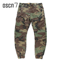 OSCN7 Casual Retro Military Army Cargo Pants Men Paintball Camouflage Cargo Pants Men Nosing Ninth Ankle
