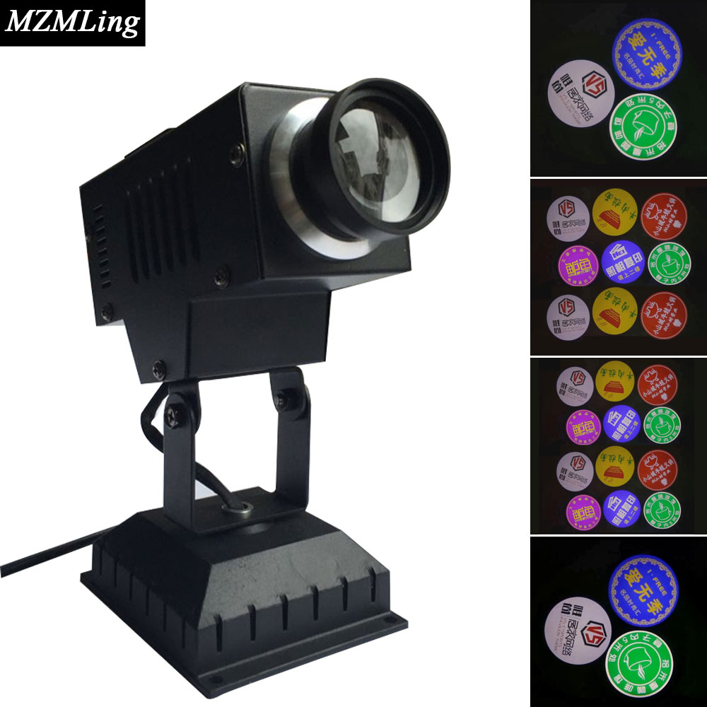 30 Led Logo Light 6500K Stage Light 2500lm DJ /Bar /Party /Show /Stage Light LED Stage Machine mini laser light r g color stage light dj bar party show stage light led stage machine