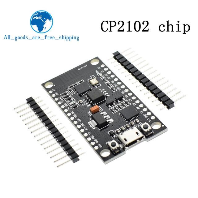 US $2 7 7% OFF TZT SB CP2102 32M FLASH WeMos D1 ESP8266 Internet Wifi  Module for Nodemcu Lua V3 DC Power of 4 ~ 9V VIN pin CP2102 for Arduino-in
