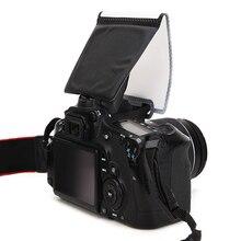 Рассеиватель Вспышки камеры софтбокс фото вспышка светильник отражатель Универсальный мягкий экран всплывающие софтбоксы общие SLR для Nikon для Canon