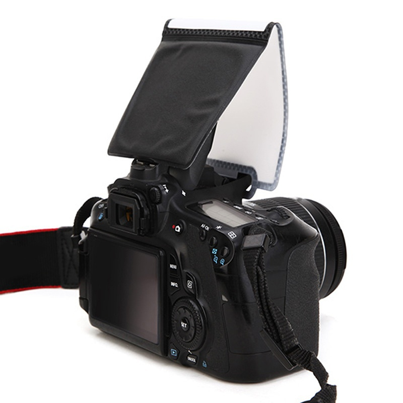 Camera Flash Diffuser Softbox Photo Flash Light Reflector Universal Soft Screen Pop-Up Softboxes General SLR For Nikon For Canon