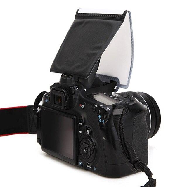 Máy ảnh Flash Diffuser Softbox Ảnh Ánh Sáng Đèn Flash Phản Xạ Phổ Mềm Screen Pop-Up Softboxes SLR Nói Chung Đối Với Nikon Đối Với canon