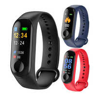 M3 Plus Smart Sports Bracelet Waterproof Smart Wristband Phone Bluetooth Heart Rate Monitor Fitness Smart Watch For Android IOS