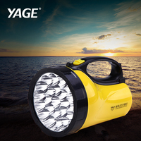 YAGE portable light led spotlights camping lantern searchlight portable spotlight handheld Flashlight night lamp light YG 3506