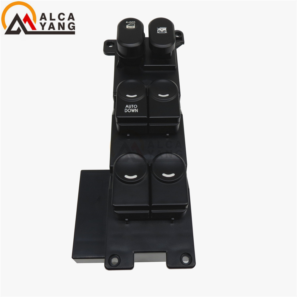 Power Window Main Switch LHD For Hyundai i30 I30cw 2008-2011 AUTO AND AUTODOWN 93570-2L000 93570-2L010 Front left control switch 93570 0z010 driver master power window lifter control switch assembly side mirror folding switch button for hyundai i30