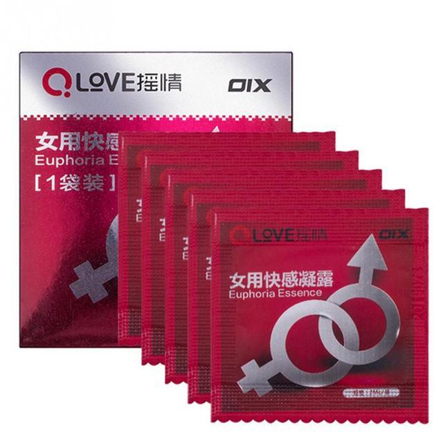 10 bags / lot Female Women aphrodisiac orgasm liquid sex drops for woman sexual stimulant Spray libido