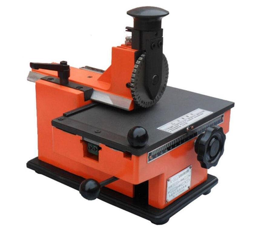 Metal Stamping Machine Tool Belarus: Metal Sheet Embosser, Manual Steel Embossing Machine