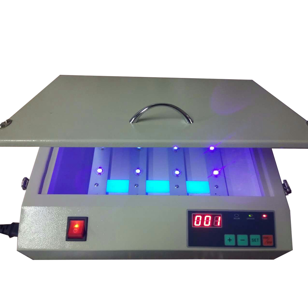 Small Ultraviolet UV Lithographic Solidification Exposure Machine Screen Printing Machine