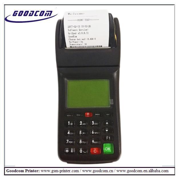 goodcom gt6000sw gprs sms wireless portable lottery ticket printing machine