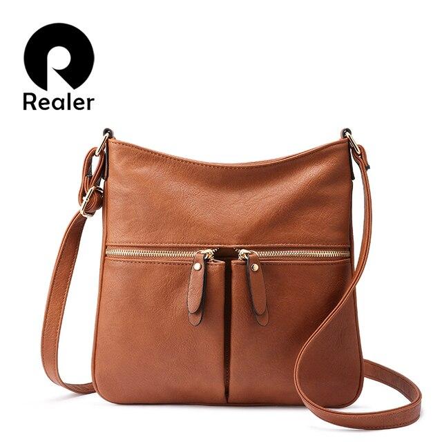 MAIS REAIS mulheres ombro sacos do mensageiro do sexo feminino Marca crossbody saco pequeno bolsas e bolsas das senhoras do desenhador bolsa De Couro PU