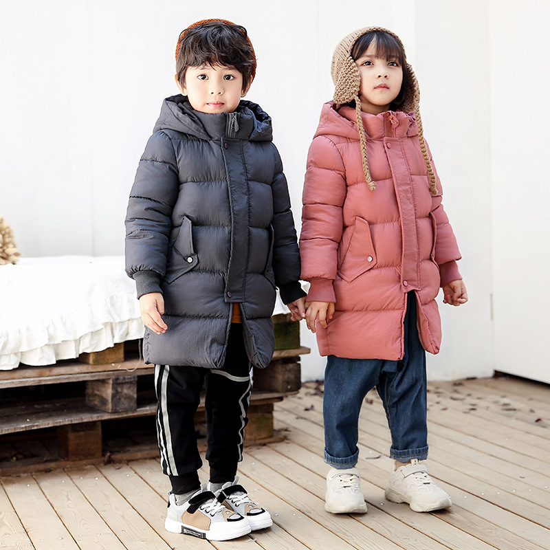 Boys Winter Coat Children Winter Down Jacket for Girls Outerwear Kids Winter Jacket Warm Thick Fur Collar Hooded Long Coats 5 14y high quality boys thick down jacket 2016 new winter children long sections warm coat clothing boys hooded down outerwear