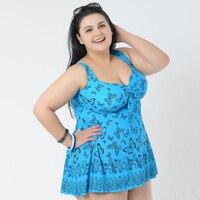 2015 New Plus Size Women Swimsuit Multi Color 11 Various Pattern Swimwear Bathing Suit Vintage Retro