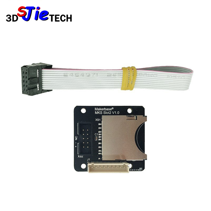 SWMAKER MKS Slot2 SD External Card Slot For MKS PAD/MKS Robin Lite/MKS TFT70 3D Printer Accessories
