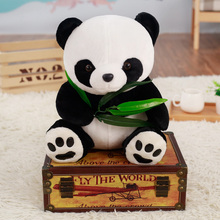 цены Cute Cartoon large size Panda Doll Animal Soft Plush Toy baby bear pillow panda doll kids toys baby birthday gift for Children
