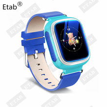Etab G3A New Fashion Children GPS Watch Smart Wrist Watch Tracker Dial Answer Call Kids Safety 1.44inch Screen .