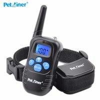 Pet Dog Training Collar 300M Electric Shock Vibra Remote Control Anti Bark Eelctric Shock Petrainer E998DRB 1