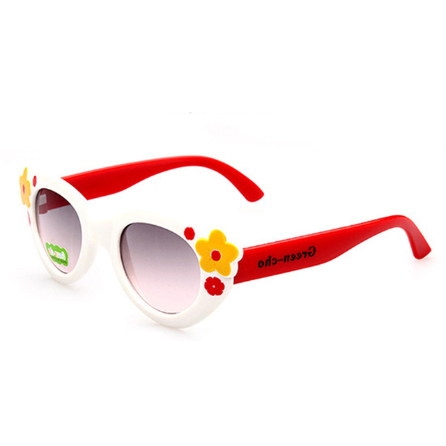 RILIXES summer Kids Sunglasses For Children Flexible  Safety  Glasses Girl Baby Eyewear For Party