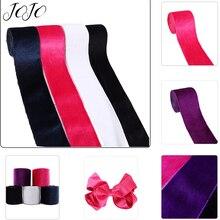 JOJO BOWS 75mm 2y Velvet Ribbon Craft Fabric Webbing Braid For Sewing Home Textile DIY Supplies Party Decoration Apparel Decor недорого