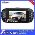 2015 Top Wince Car Mobile Multimedia DVD Player Radio For KIA Soul 2014- With GPS Navigation BT Free Map