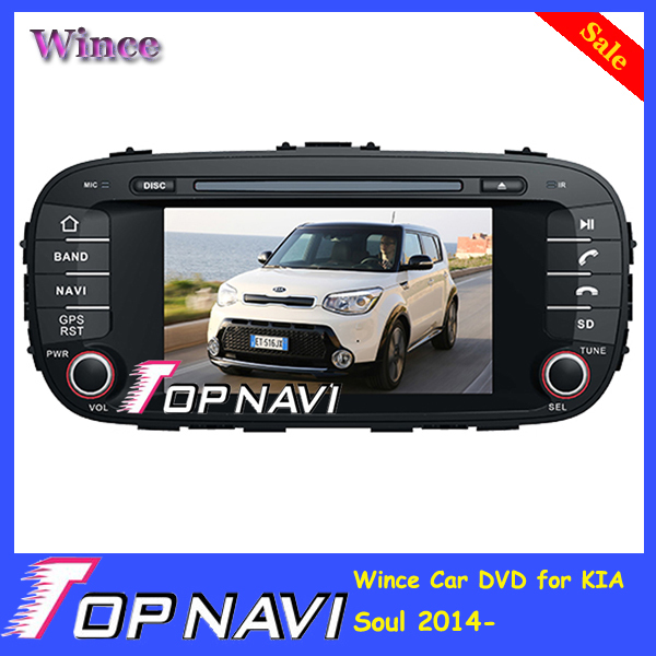2015 Top Wince Car font b Mobile b font Multimedia DVD Player Radio For KIA Soul