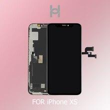 מקורי OEM 1:1 איכות עבור iPhone XS LCD תצוגת מסך Digitizer עצרת החלפת OLED/TFT עם זיהוי הפנים טוב 3D