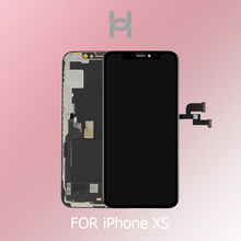 Originale OEM Qualità di 1:1 Per il iphone XS Display LCD Screen Digitizer Assembly di Ricambio OLED/TFT Con Viso di Riconoscimento di Buona 3D