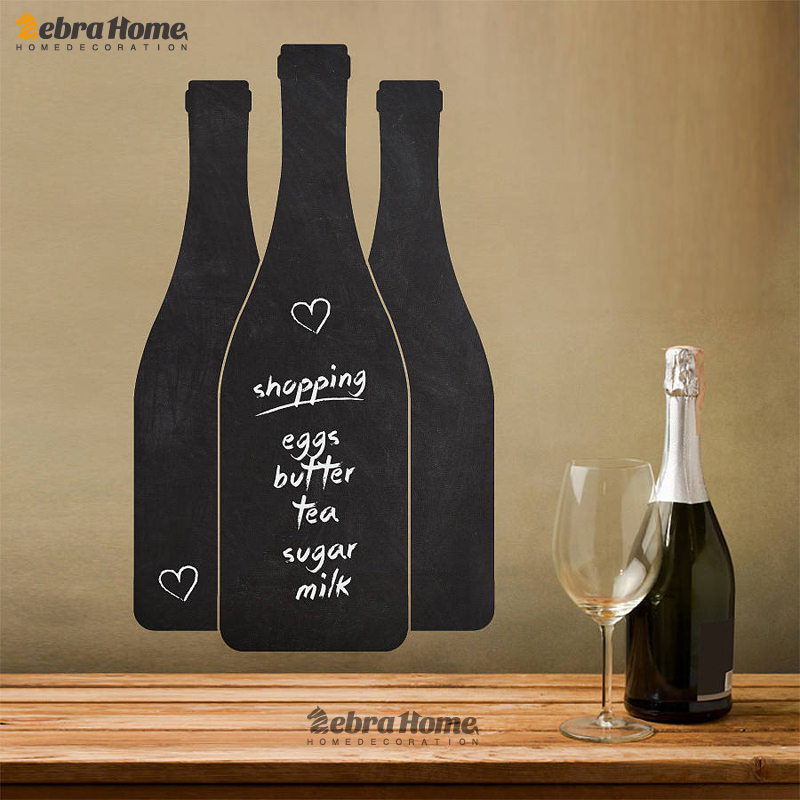 Various Shapes Wall Sticker Blackboard Decal Vinyl Chalkboard Wall Sticker Home Decoration Great Gift For Kitchen