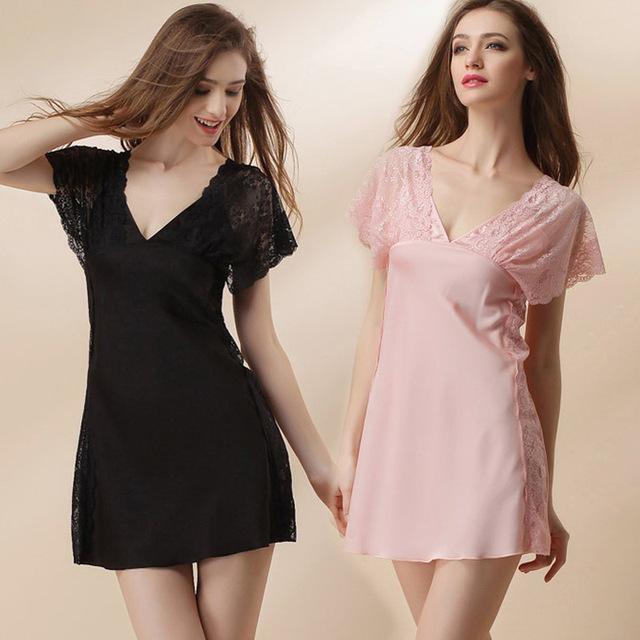 Mulheres Kimono Robe Curto Comprimento Roupão Lingerie Sexy Sleepwear Laço de Cetim Pijamas Robes De Dama De Honra Curta M L XL