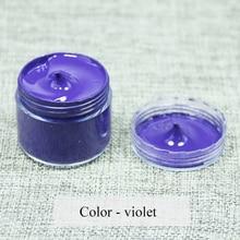 Violet - Leather coloring paste,leather bag,sofa, shoe,clothing,refurbished to change color