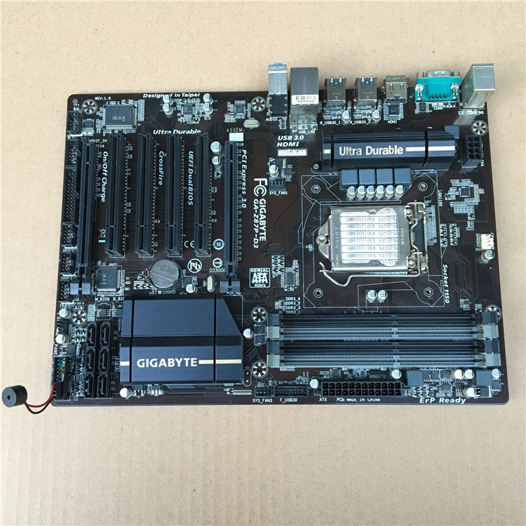 Original Motherboard For Gigabyte GA-Z87P-D3 DDR3 LGA 1150 32GB Z87P-D3 For I3 I5 I7 22nm Z87 Desktop Motherborad