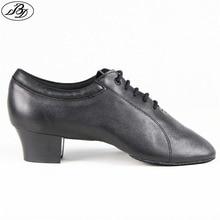BD Men Latin Dance Shoes 419 Genuine Leather Split Outsole Dancing Shoe Ballroom Dancesport Dance Shoe Samba Chacha Rumba Jive