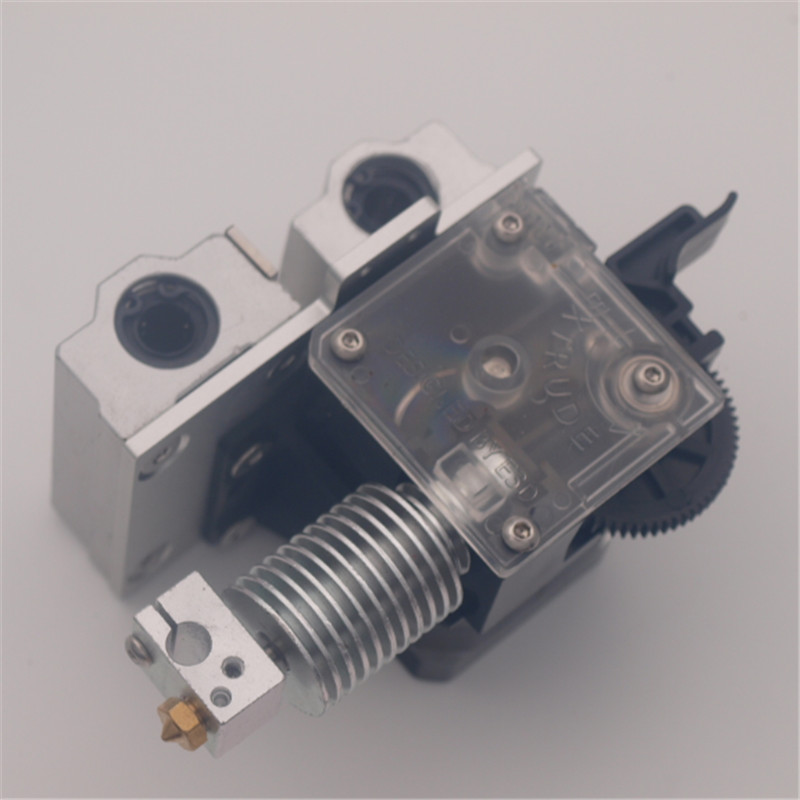 Reprap Titan extruder X-carriage mount V6 metal hotend kit 1.75/3mm Titan Extruder Upgrade for Prusa i3 a funssor chimera cyclops bowden x carriage mount hotend kit for reprap prusa i3 inductive sensor auto leveling probe 1 75mm