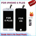 For iphone 6 plus Display LCD module clone pantalla with touch screen digitizer assembly replacement Grade AAA black white