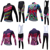 Quick Dry Cycling Jersey Women Set 2017 Bike Clothes Maillot Mtb Bib Bicycle Clothing Kit Long