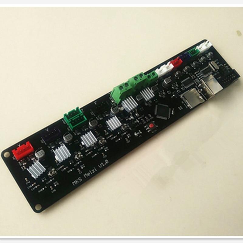 ФОТО MKS MELZI 3D printer mainboard & cost-effective screen marlin firmware